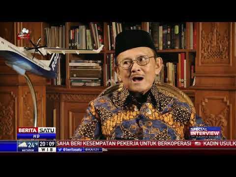 Special Interview BJ Habibie: Jokowi, Pesawat R80, dan My Way #1
