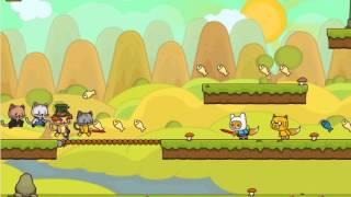Прохождения игри котята против лисиц 2