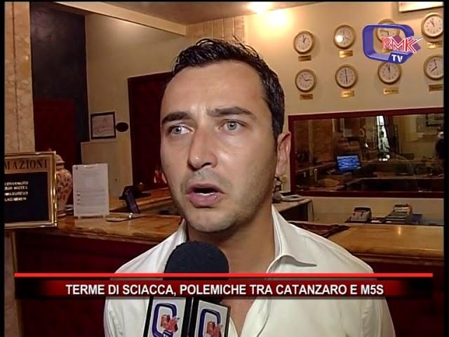 TERME DI SCIACCA, POLEMICHE TRA CATANZARO E M5S