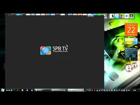 SPB TV на Windows 7 или как смотреть ТВ на компьютере