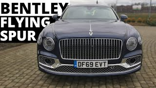 Bentley Flying Spur - like a Sir