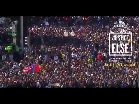 Justice or Else! - Million Man March 20th Anniversary - Engl