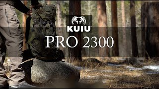 KUIU Pro 2300 Pack Overview