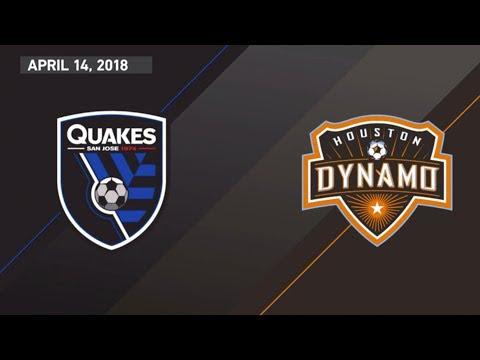 HIGHLIGHTS: San Jose Earthquakes vs Houston Dynamo | April 14, 2018
