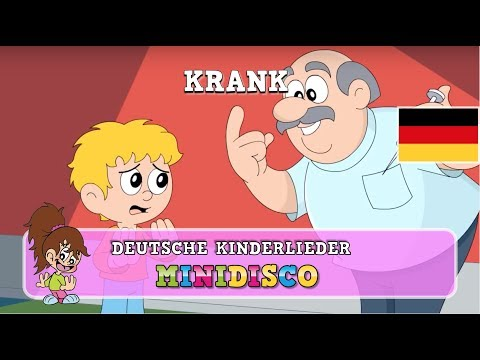 Krank | Kinderlieder | Kindergarten Songs | Kinder Tanz Songs von Minidisco