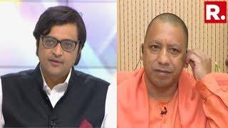 Uttar Pradesh Chief Minister Yogi Adityanath Speaks To Republic TVs Editor-in-Chief Arnab ...