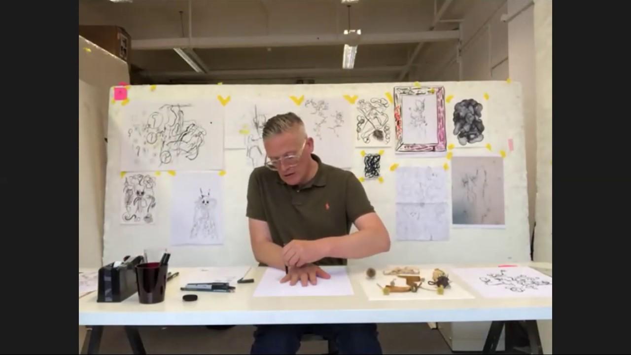 LIVE: Pattern tiling workshop with Giles Deacon   Hospital Rooms Digital Art School