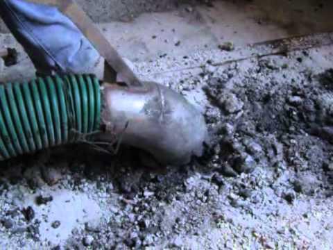 Taglio muri senza polvere