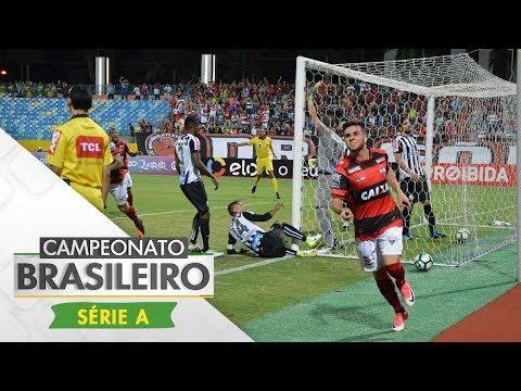 Melhores Momentos - Gols de Atlético-GO 1 x 1 Santos - Campeonato Brasileiro (01/07/2017)