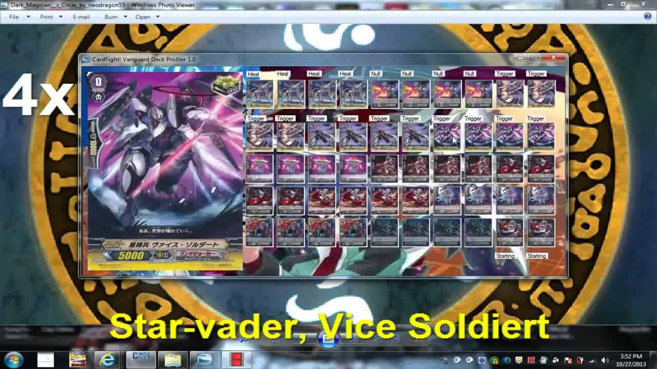 card fight vanguard world nebula link joker deck profile
