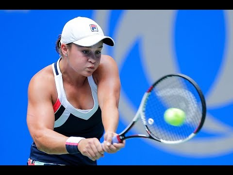 2017 Wuhan Quarterfinals | Ashleigh Barty vs Karolina Pliskova | WTA Highlights