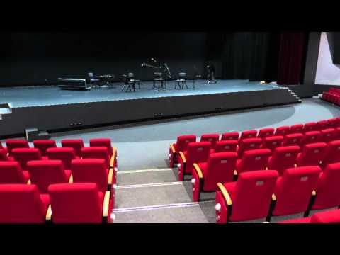 Elevating Work Platform (EWP) for orchestra pit