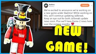 NEW BADIMO Game Coming Soon! | Maybe Roblox Jailbreak 2.0??! | 1.5K SUBS! | ROBLOX Jailbreak LIVE🔴