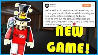 NEW BADIMO Game Coming Soon! | Maybe Roblox Jailbreak 2.0??! | 1.5K SUBS! | ROBLOX Jailbreak LIVE🔴