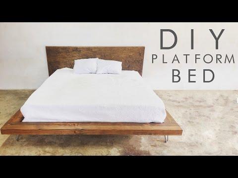 DIY Modern Platform Bed - Modern Builds EP. 47
