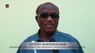 Walemavu Mbeya waikumbusha Tume ya Uchaguzi wajibu wake