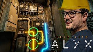 MINDIG CSAK A VILLANYSZERELÉS!!! ? | Half-Life: Alyx #9