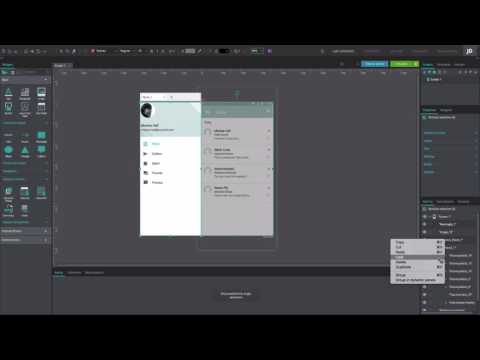 How To Create A Slide Menu In Your IOS Or Android App Prototypes