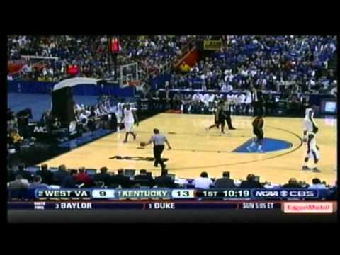2010 NCAA Tournament - WVU vs Kentucky - 1st Half