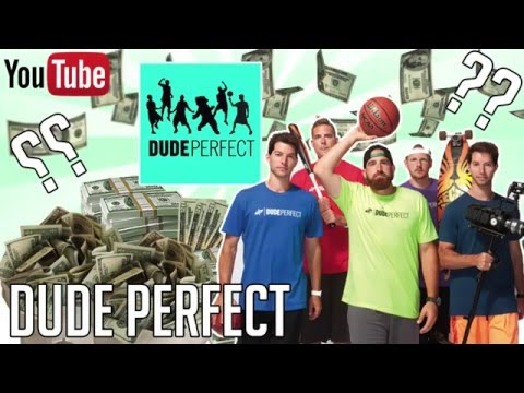 HOW MUCH MONEY DOES DUDE PERFECT MAKE ON YOUTUBE 2016