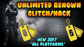 (NEW) UNLIMITED RENOWN/XP GLITCH/FARM (PS4, Xbox One, PC) - R6 Siege Glitches