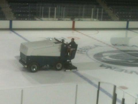 Zamboni Machine at Pegula Ice Arena