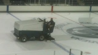 Zamboni Machine at Pegula Ice Arena