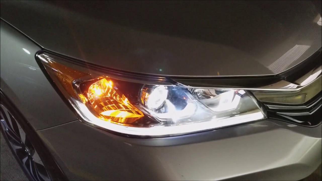 Don T The 2017 Accord Hybrid Touring Model Just For Led Lights