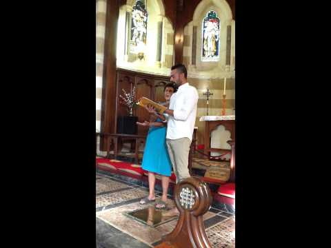 Byron Watson - baritone - The Ship of Fame - traditional hymn of Norfolk Island