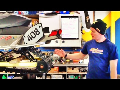 How To Stud A Snowmobile Track