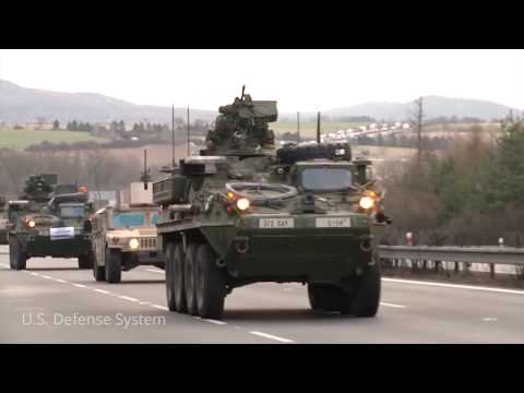 U.S. Army's Upgunned Stryker Armored Vehicles Will Soon Be On The Front Lines