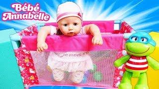 Vidéo pour enfants. Bébé born Annabelle. Nouveau parс à bébé