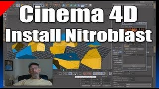 Install Nitroblast Cinema 4D Plugin in Windows 7