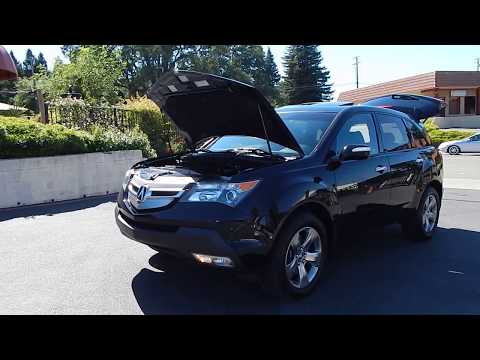 2008 Acura MDX SH-AWD SUV video overview and walk around.