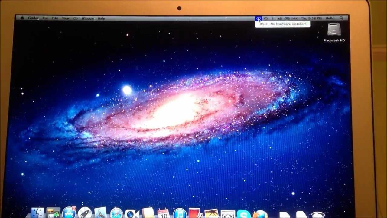 Mac OS X BASIC TROUBLESHOOTING