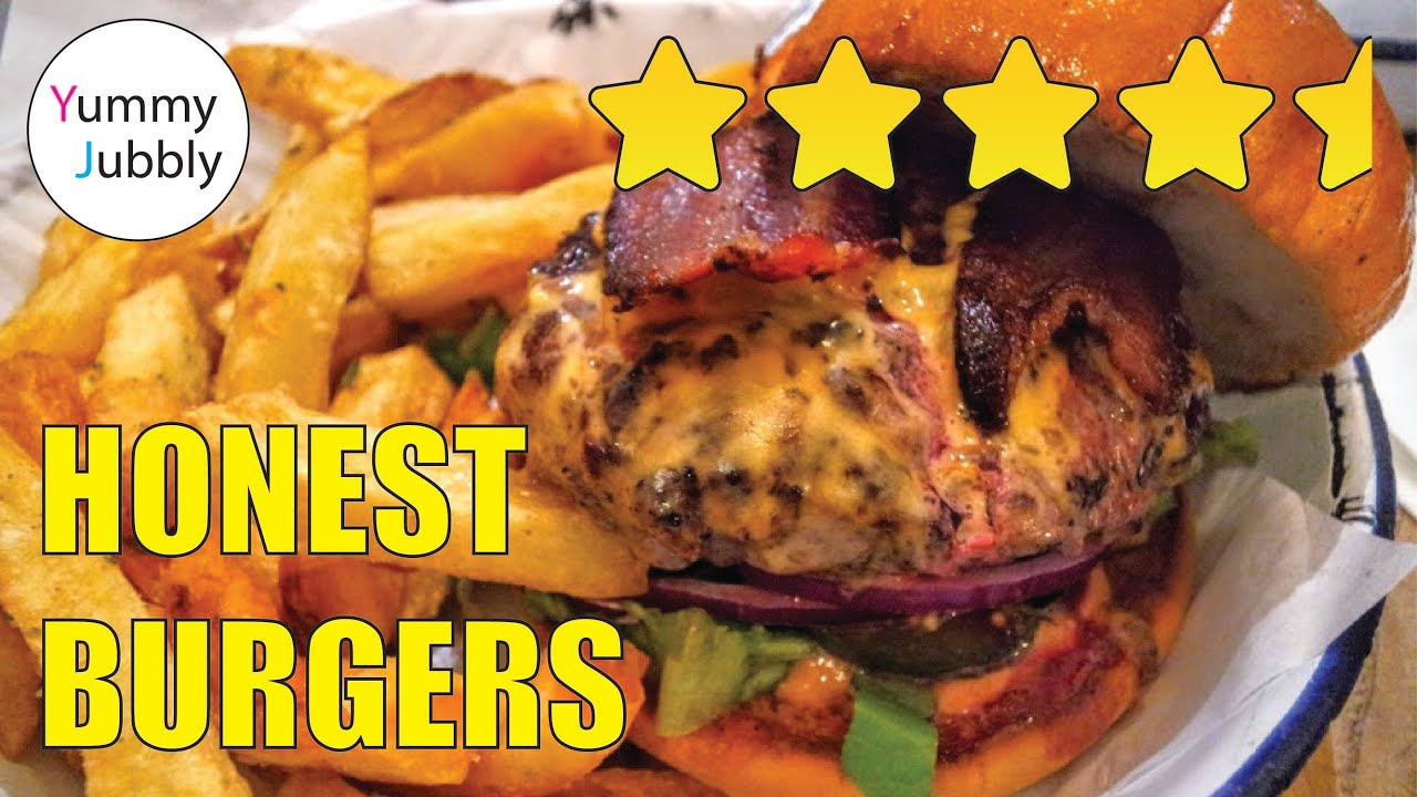 honestly best burgers from honest burgers london youtube