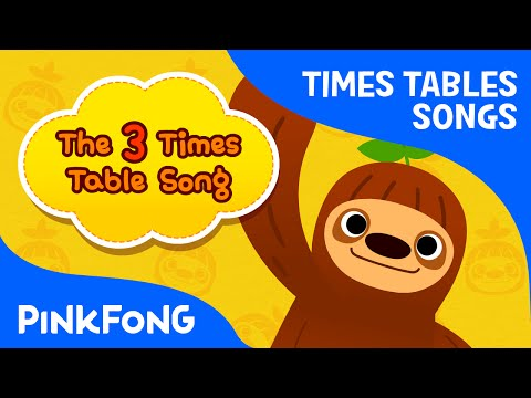 The 3 Times Table Song | Count by 3s | Times Tables Songs | PINKFONG Songs for Children