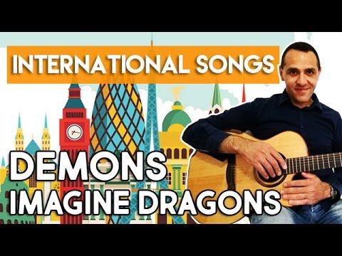 Играть гитаре imagine dragons