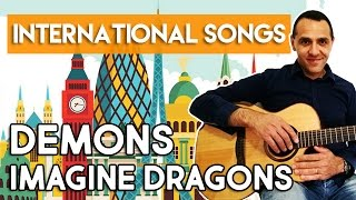 DEMONS - IMAGINE DRAGONS - TUTORIAL - How to play - Guitar