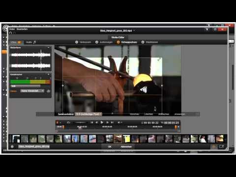 Videos anpassen mit Pinnacle Studio 16 und 17 Video 30 von 114