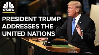 LIVE: President Trump Addresses the United Nations - Sept. 25, 2018
