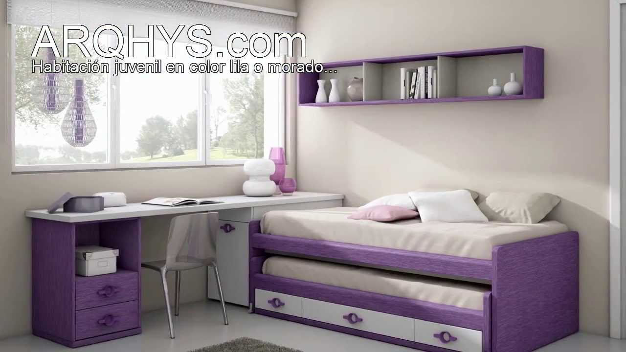 Cmo decorar con el color lila o morado YouTube