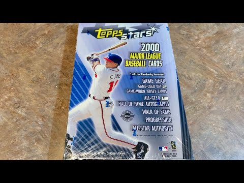 2000 TOPPS STARS BOX OPENING! (Throwback Thursday)