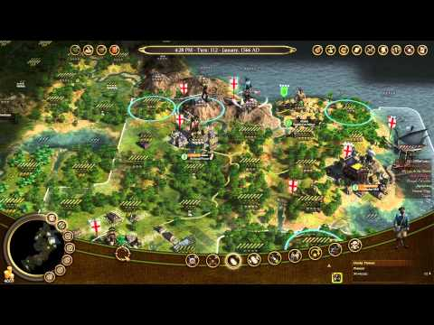 Let's Play Civ IV Colonisation 4 (Colonial Military, Embracing The Natives, Draaaaaaaake)