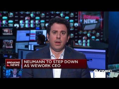 WeWork CEO Adam Neumann officially stepping down, making IPO highly unlikely