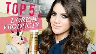 Top 5 L'Oreal Products Thumbnail