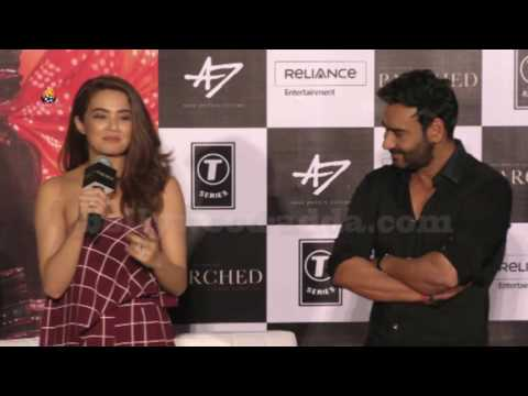 PARCHED Movie 2016 Trailer Launch | Ajay Devgan,Radhika Apte,Tanishtha,Surveen Chawla.