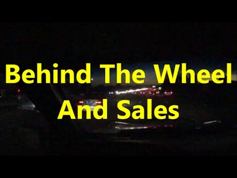 Behind The Wheel And Sales