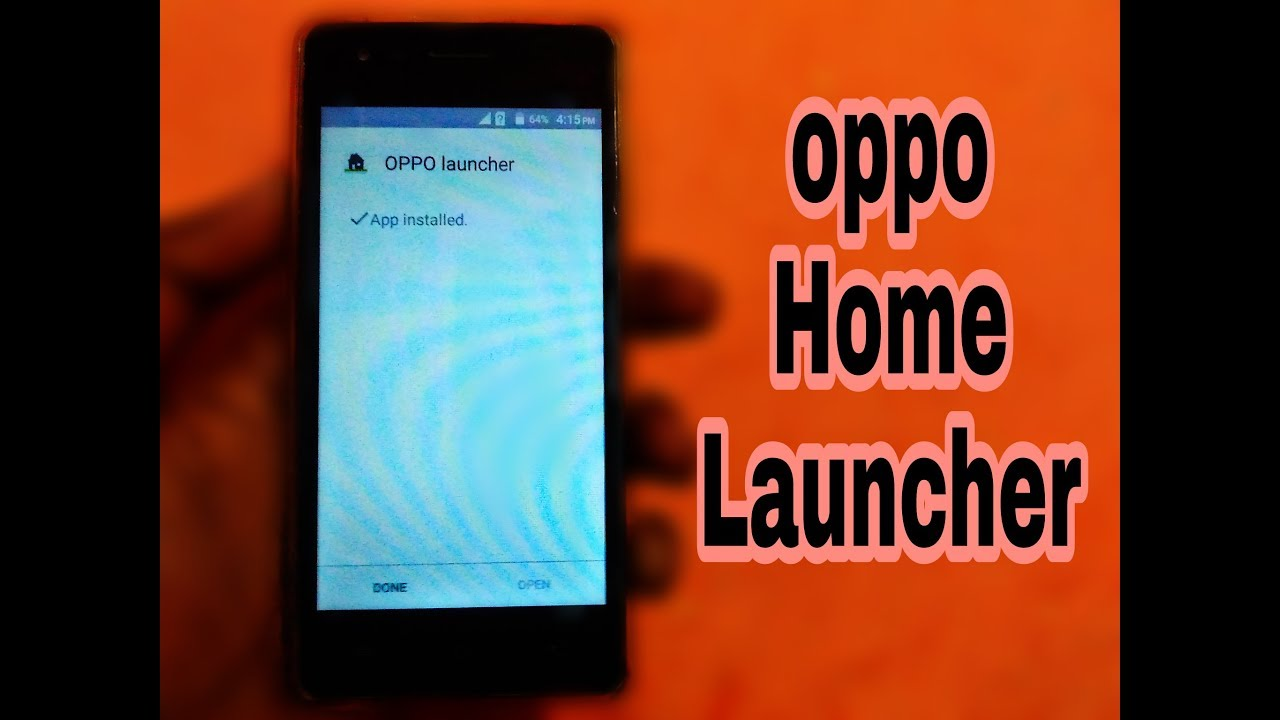 How To Install Oppo Home Launcher On Any Android Device