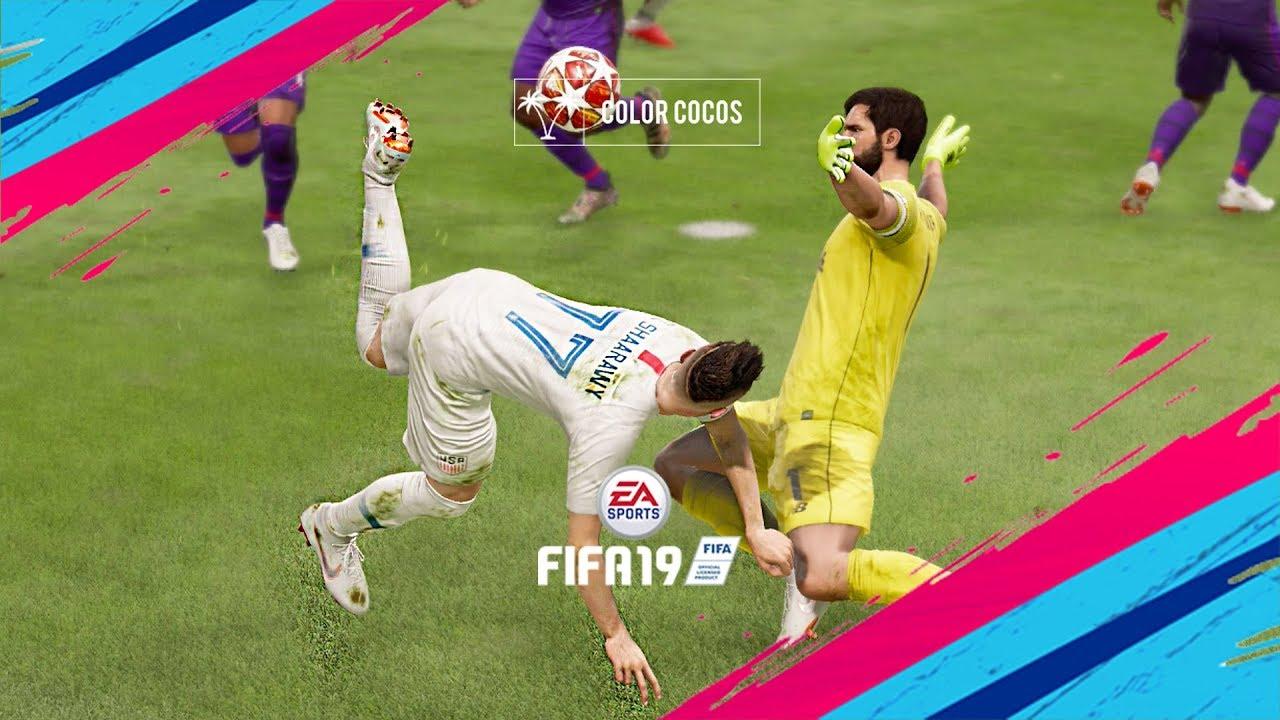 FIFA 19 | EN İYİ GOLLER DERLEMESİ Videosu